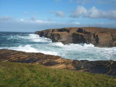 The cliffs at Yesnaby Orkney