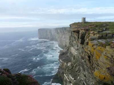 Kitcheners Memorial at Marwick Head
